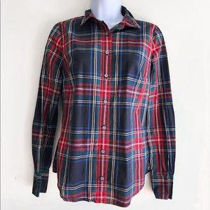J. Crew Tartan Plaid Shirt 0